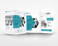Freelance Project - PASSTIME Brochure