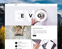 EVO - Multipurpose Agency/Portfolio template