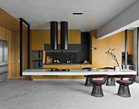 Dijon Kitchen by Diego Revollo