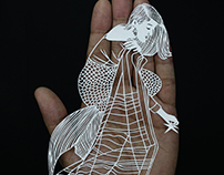 The Indian Mermaids | Papercut by Parth Kothekar