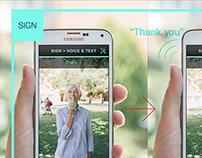 Sign™ - Mobile App