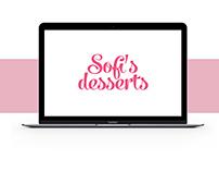 Logotype Sofi's Desserts