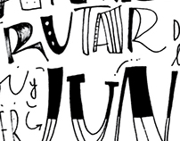 Lettering I Poster tipográfico