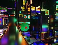 Ciberpunk - Voxel city