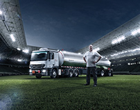 Mercedes-Benz Trucks - Retouching & Composition