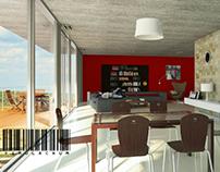 3D interior design // Simulacrum Studio