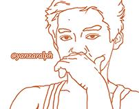 Traced IG: yanzaralph