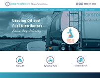 Fuel Distributors Website Design
