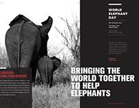 Elephants need your help