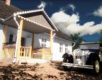 Andruszewski Manor House / Realtime 3D Walkthrough