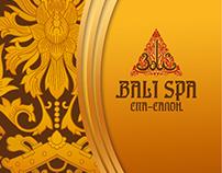 "Дизайн для компании ""Bali-Spa"""