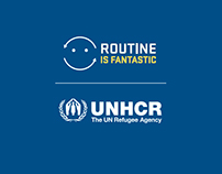 UNHCR Routine in Fantastic - Campagna Integrata