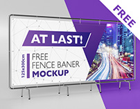 Free banner mockup