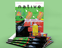 Native Magazine cover