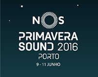 Line-Up NOS Primavera Sound 2016