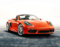 Porsche 718 Cayman /// 718 Boxster - The Directors Cut