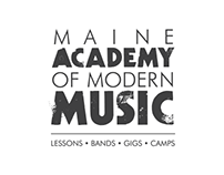 Maine Academy of Modern Music Branding