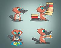 Platypus Character Design