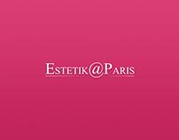 "Website for ""Estetik@Paris"""