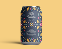 Suppaoria Iced Tea Branding & Packaging