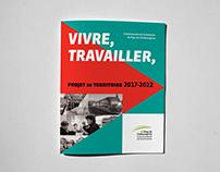 Brochure Design: Projet de Territoire