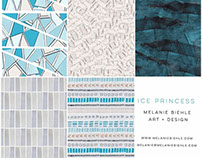 Ice Princess Textile Print Design Collection