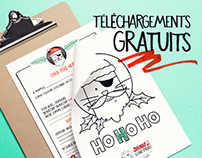 Jaws le chat (pirate) de Noël Téléchargements gratuits