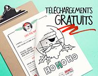 Jaws le chat (pirate) de Noël Téléchargements gratuits