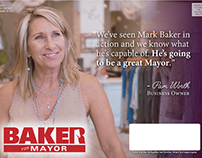 Mark Baker - Saratoga Mayor Campaign
