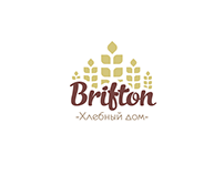 "Logo for the bakery ""Brifton"""