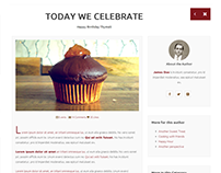 Thymelis - One Page Restaurant Theme