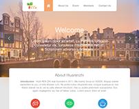 Hua Ren Zhi Web design