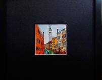 Venetian White Tower--SOLD