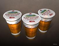 Ravnogor - Bulgarian yogurt packaging