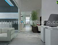 Office Interior Design - architecture rendering Visual