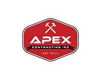 Apex Contracting INC Logo Design
