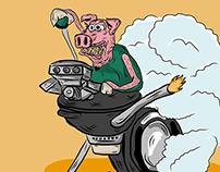 Big Bad BBQ Poster