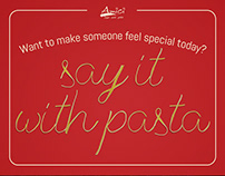 Amici: Say It With Pasta