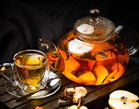 "Photography for the tea card restaurant ""Prodigium"""