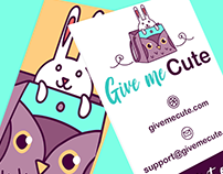 Give me Cute - Brand Identity