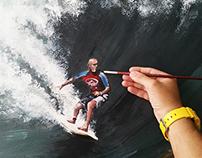 Chico Paioli - Acrilic on Canvas 120x70cm