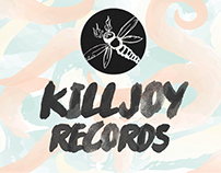 Killjoy Records // Brand Identity