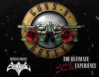 Playbill for Rock Concert