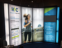 HealthyCapital Convention Booth