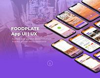 FoodPlate App UIUX