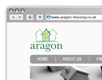 Front-End Web Design   Aragon Housing Association