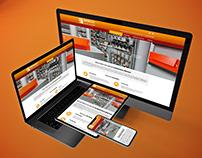 Página web de Baixcat instal·lacions S.L.U.