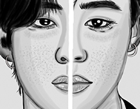 V-JIMIN | BTS portrait