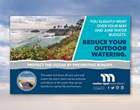 Postcard Design for Moulton Niguel Water District