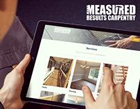 Measured Results Carpentry Website